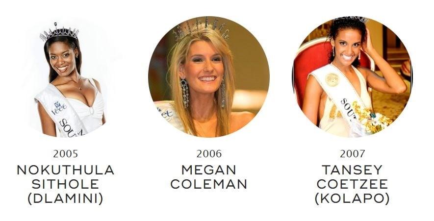 Miss SA crowns