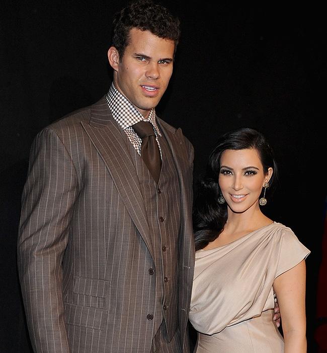 Kris Humphries and Kim Kardashian attend A Night o