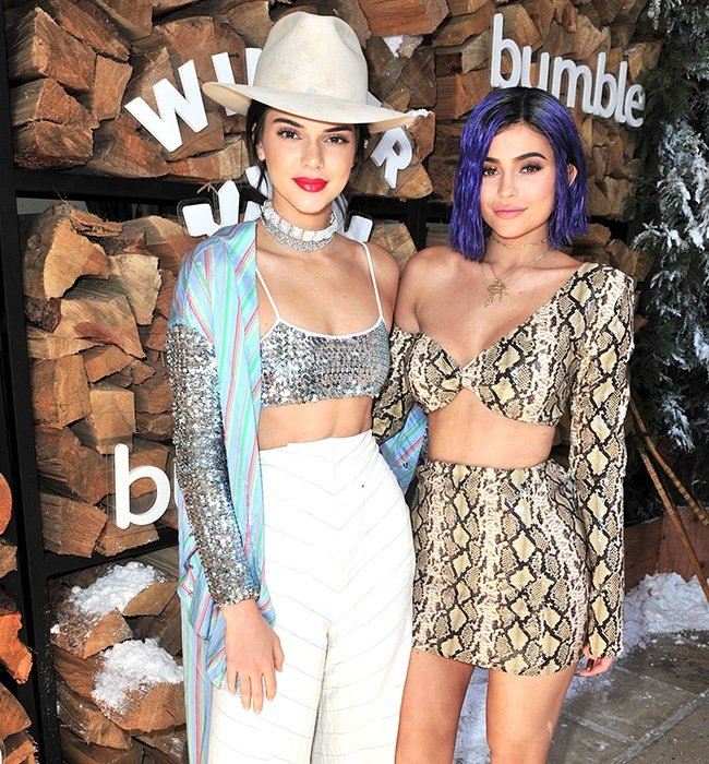 Kendall Jenner and Kylie Jenner attend Winter Bumb