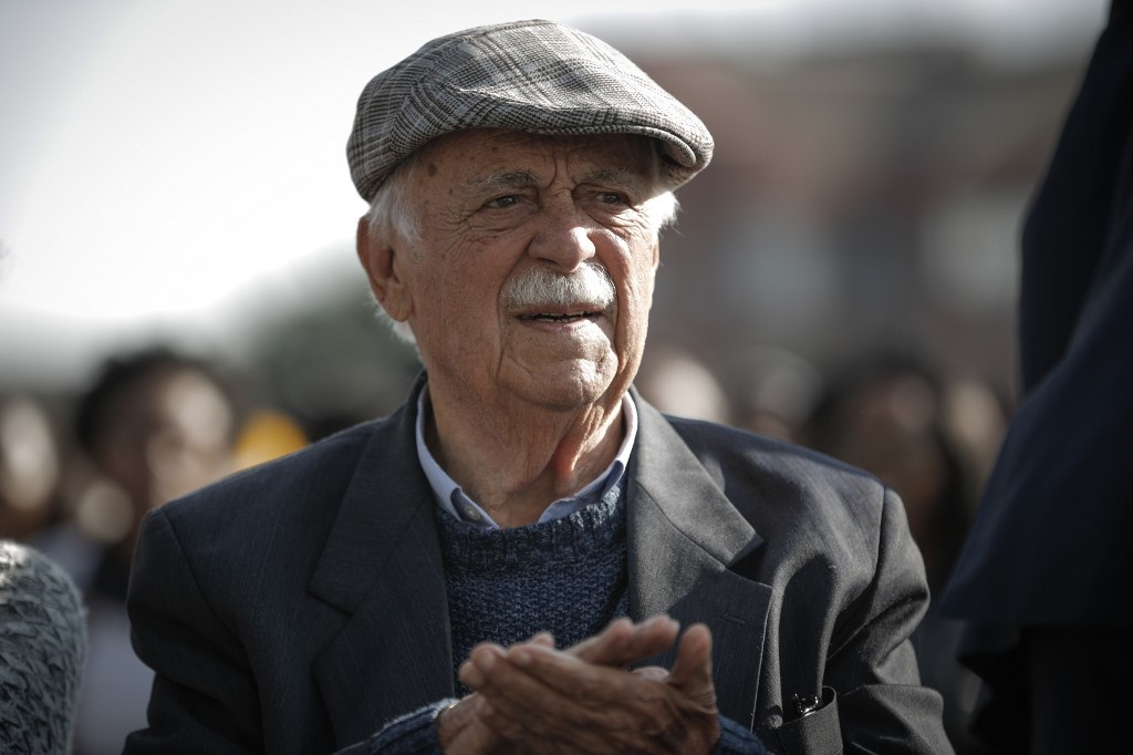 Human rights advocate George Bizos died at the age of 92.