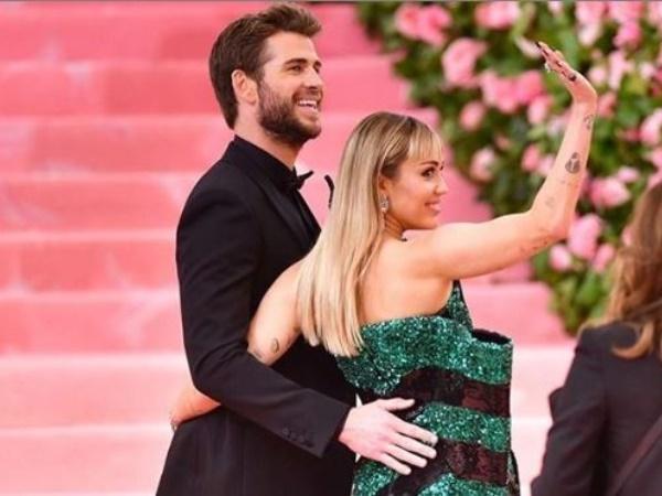 Miley en Liam