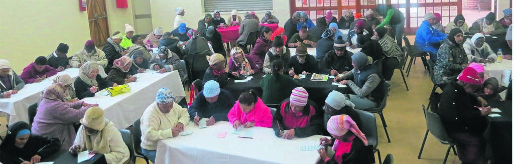 Each participant had their own play sheet and there was an undisclosed prize for the winner.PHOTO: siphesihle notwabaza