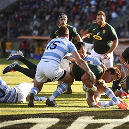Dominant Boks dismantle Pumas to win Rugby Championship
