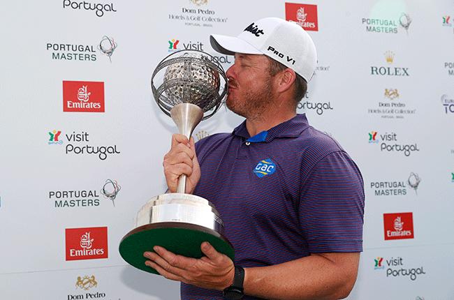 George Coetzee wins Portugal Masters