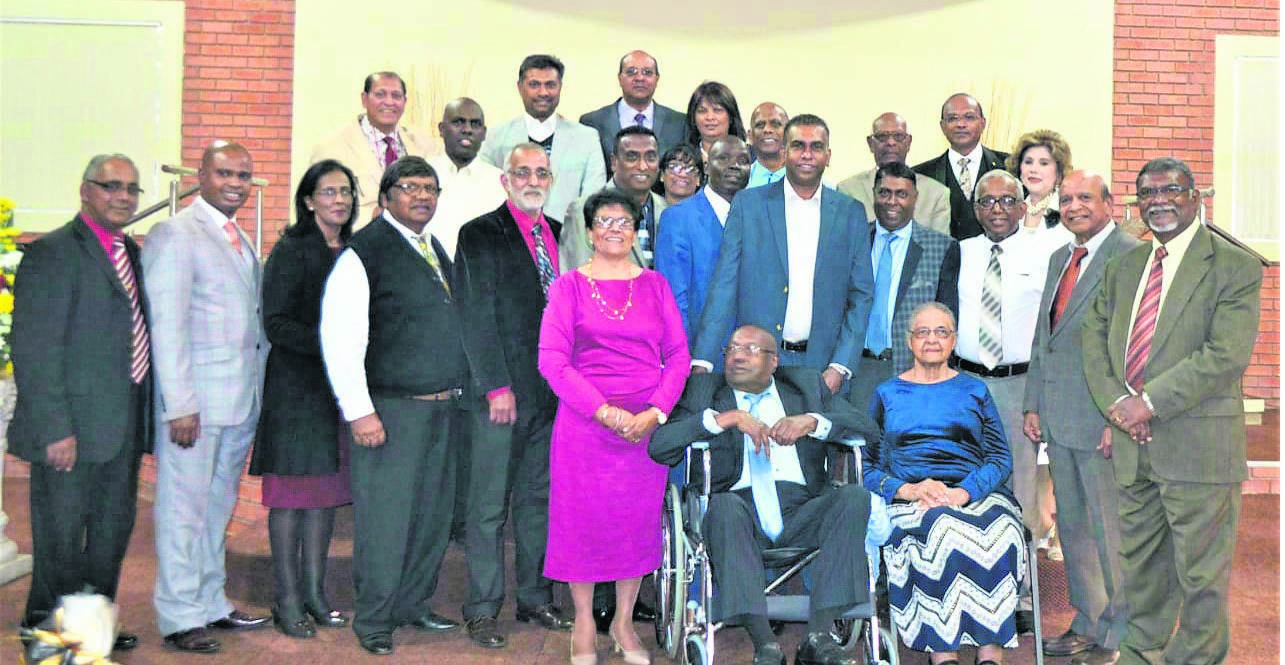 Members of the church during the 18th year anniversary celebrations. PHOTO: supplied