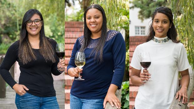 Winemakers  Lucretia Africa (24), Victoria Davis (