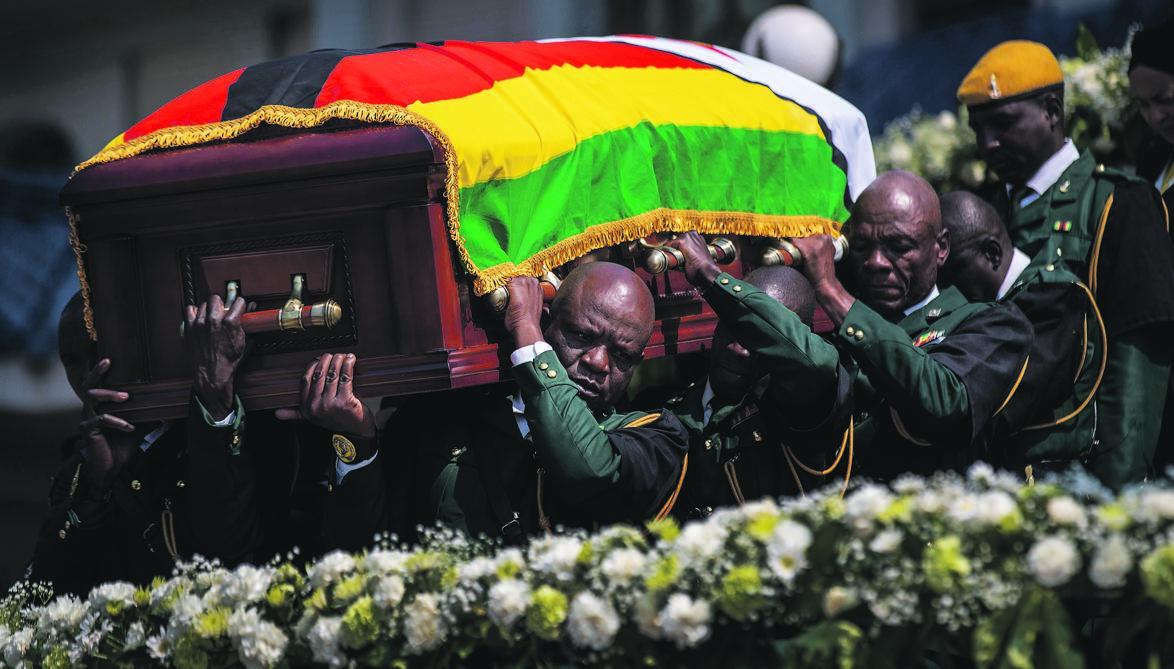 News24.com | Mugabe se begrafplaas was nooit onderhandelbaar nie - Leo Mugabe