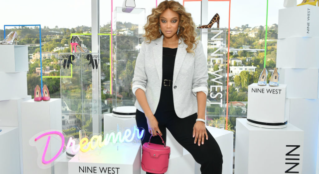 Tyra Banks hosts Nine West New campaign launch event in celebration of International Women's Day. Photographed by Amy Sussman