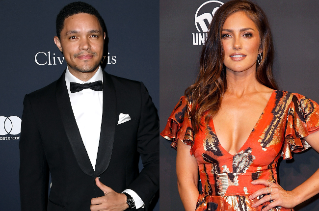 Trevor Noah and American act­ress Minka Kelly have kept their relationship away from the media spotlight. (Photo: Gallo Images/Getty Images)