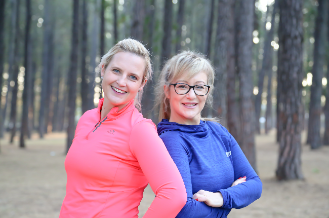 Kerry Harrison and Nicci Robertson are the founders of Free2RunSA (Photo: Supplied)