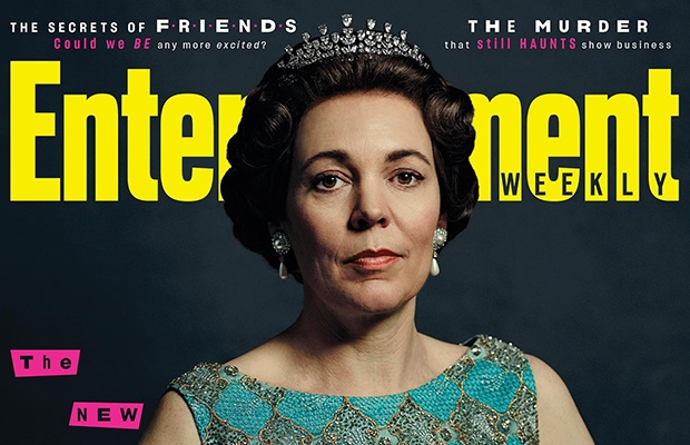 Olivia Colman on the cover of Entertainment Weekly