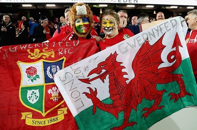 British & Irish Lions fans (Getty)