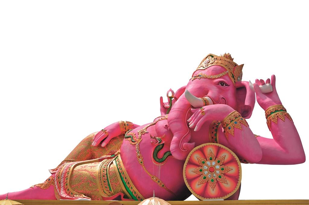Die god Ganesha het 'n olifantkop. Foto: Gallo Ima