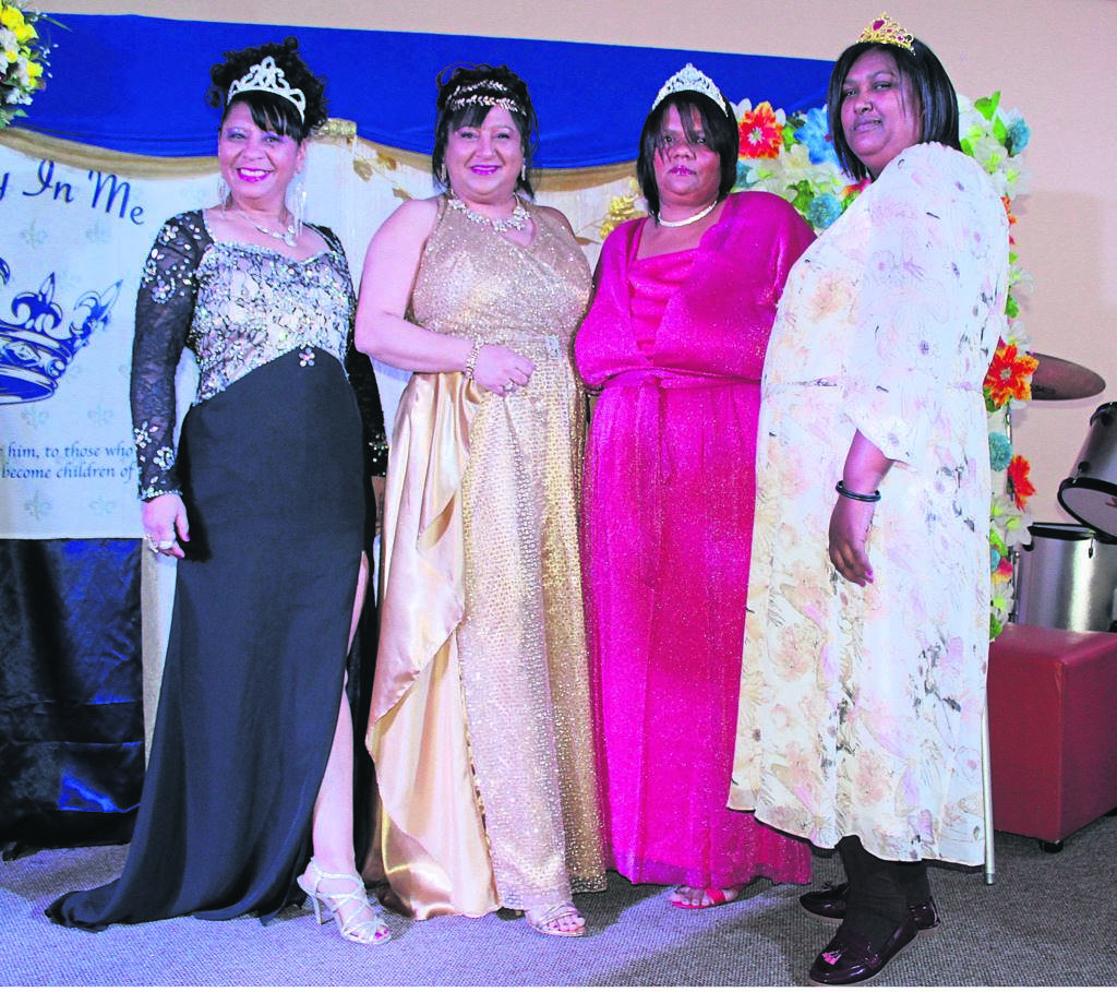 From left are Brimulda Coetzee, Arlene Naidoo, Anthea Andrews and Vanessa Williams.PHOTO: siphesihle notwabaza
