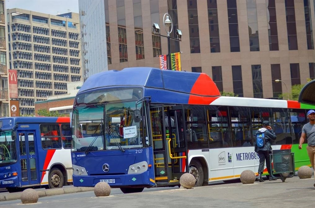 Johannesburg bus service Metrobus has been crippled by strike action this week.