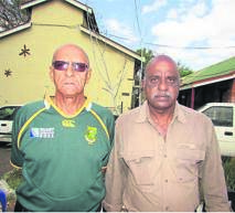 Two new members: former captain Frank Uys and Sada Pillay.PHOTO: supplied