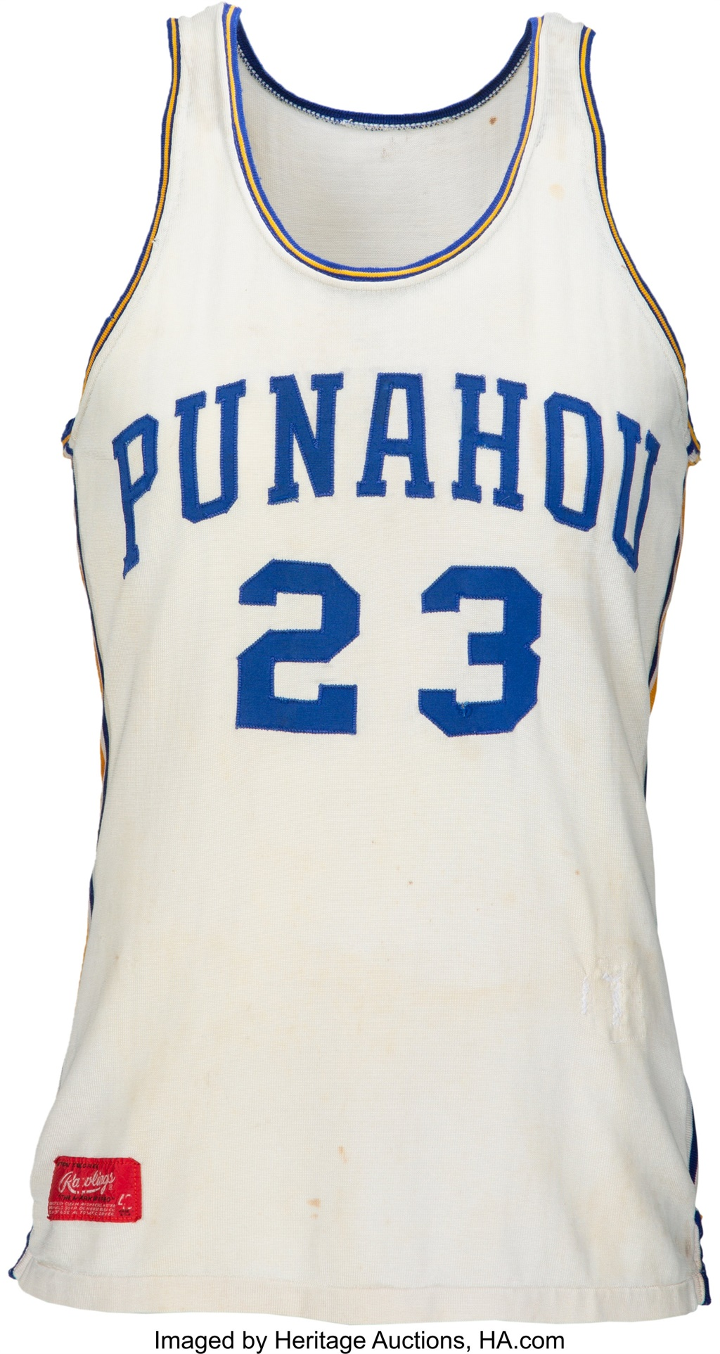 Obama basketball jersey sells for $120 000
