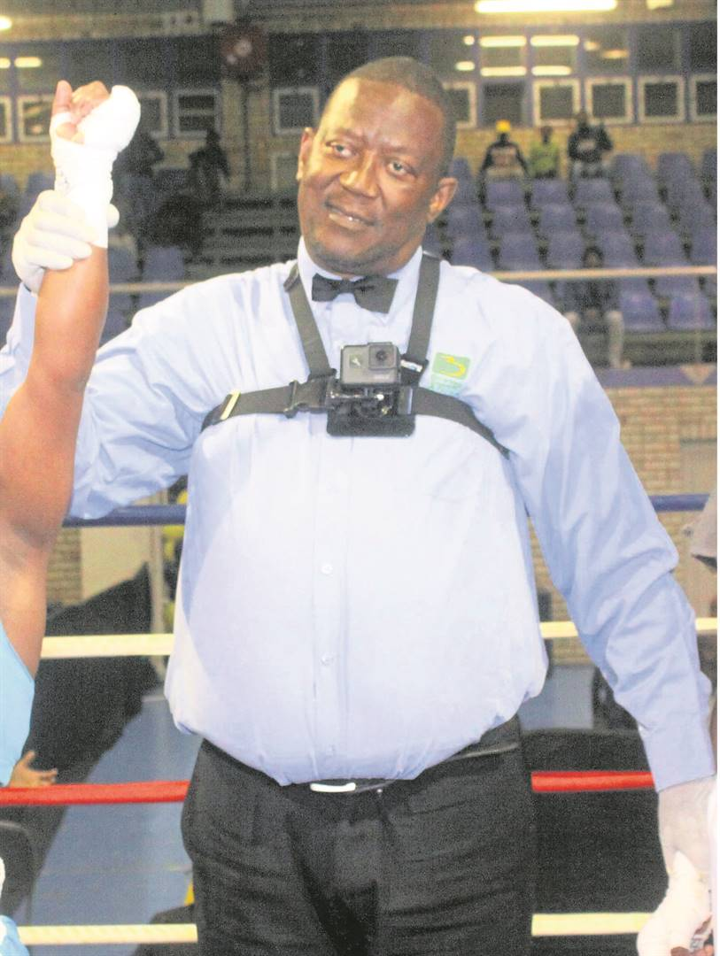 "Boxing referee and judge Freddy ""Tap Tap"" Makhathini.Photo: Supplied"