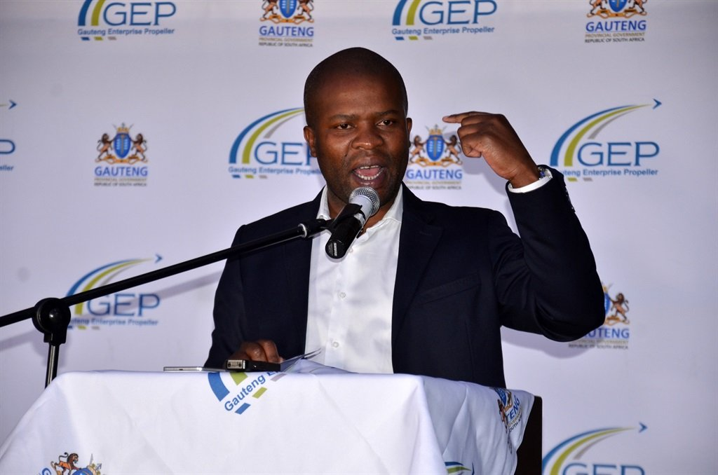 Gauteng Cooperative Governance and Traditional Affairs MEC Lebogang Maile