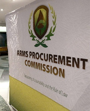 The commission is investigating allegations of corruption in the controversial multi-billion rand arms deal. Picture: supplied(AFP)