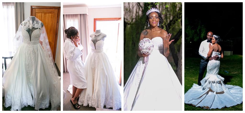 happy simelane, wedding, Porsche