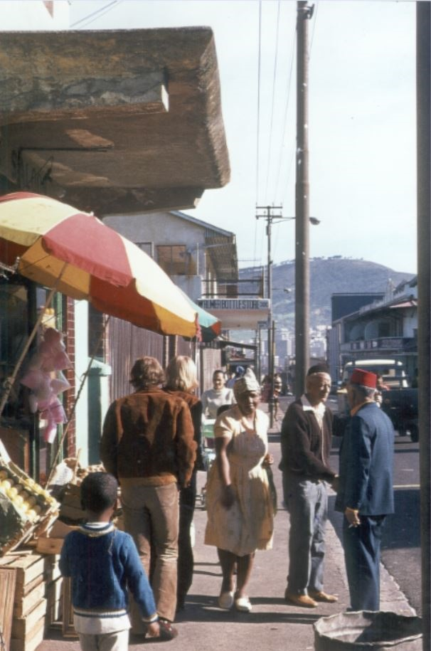 Hanover Street before the forced removals in District Six. (Jurgen Appelhans Collection, District Six Museum)