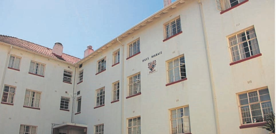 One of the male residences at Stellenbosch University.