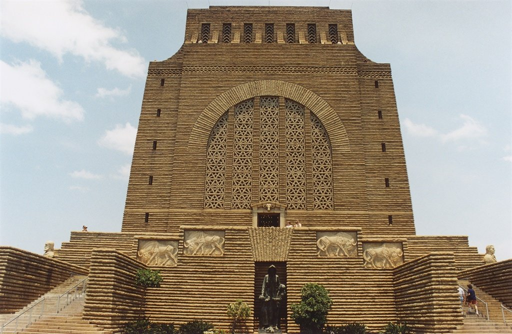 Voortrekker monument was erected as a symbol of Afrikaner nationalism. Taken around 1997. (Photo by Joachim Meyer / via Getty Images)