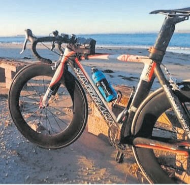 This Silverback bicycle was stolen whilst the cyclists stopped next to the R334 Motherwell Road. Photo:SUPPLIED