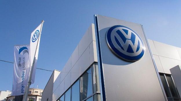 A Volkswagen dealership.
