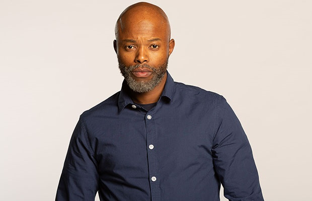 Thapelo Mokoena is Quinn Makebe in 'Trackers.'