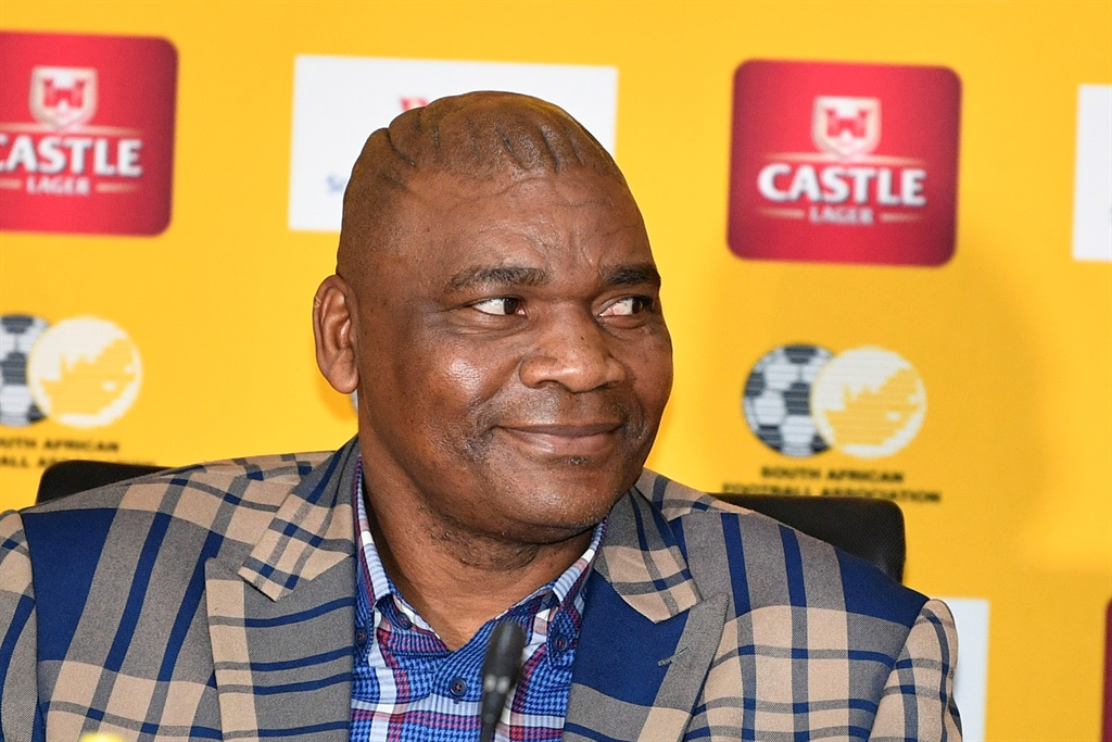 Bafana Bafana coach Molefi Ntseki is eager to wrap up qualification for the continental tournament in Cameroon next year. Picture: Gallo Images