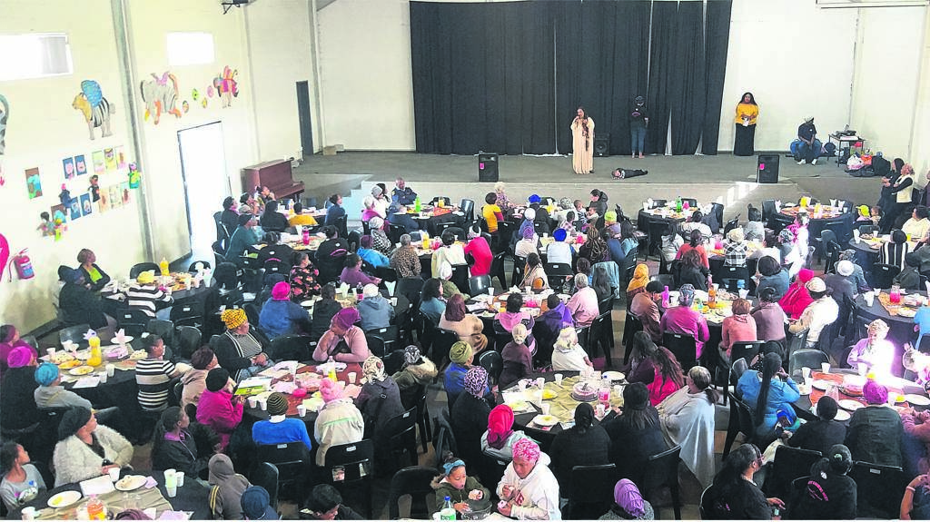 About 300 women were spoilt at the Women's Day celebrations on Friday 9 August.