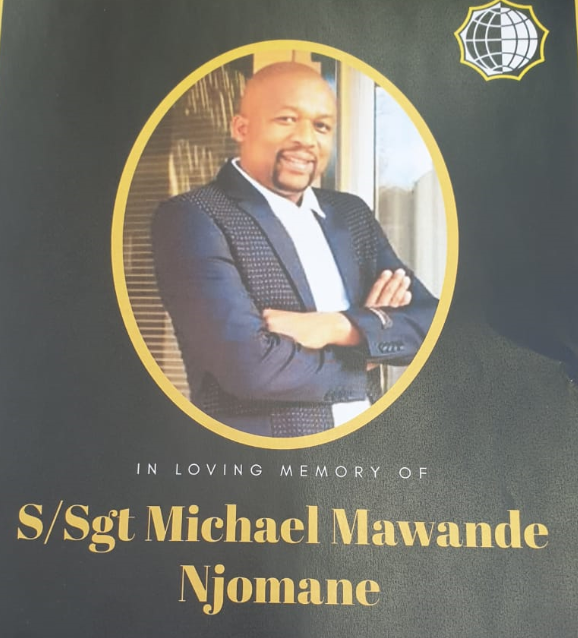 Staff Sergeant Michael Njomane (Supplied)