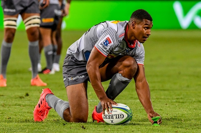 Damian Willemse of the Stormers during the SuperFa