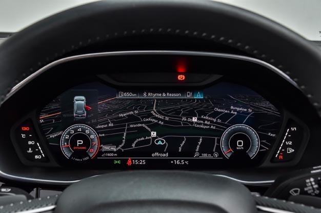 Audi Q3 satnav cluster