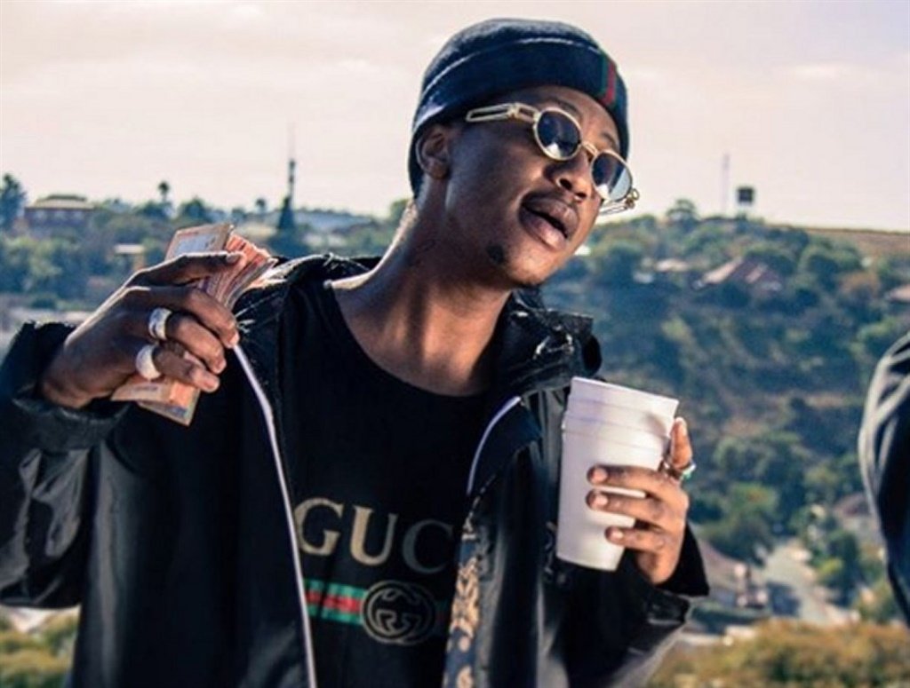 Kings of the double cup: Local rappers Emtee and Saudi have been associated with the drink, which is also popular among rappers in the US. pictures:supplied