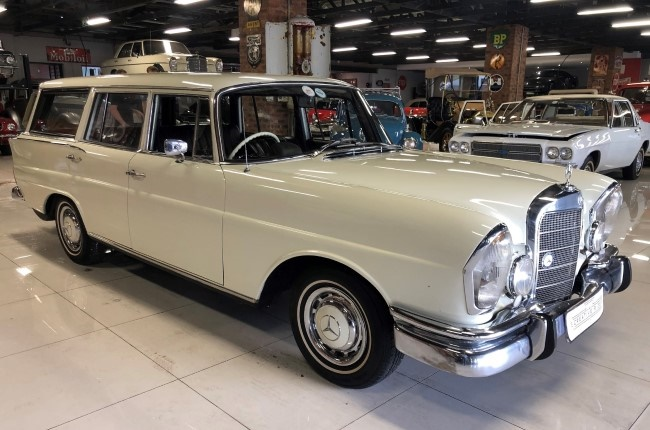 1967 Mercedes Benz 230S Fintail Station Wagon. Image: Supplied