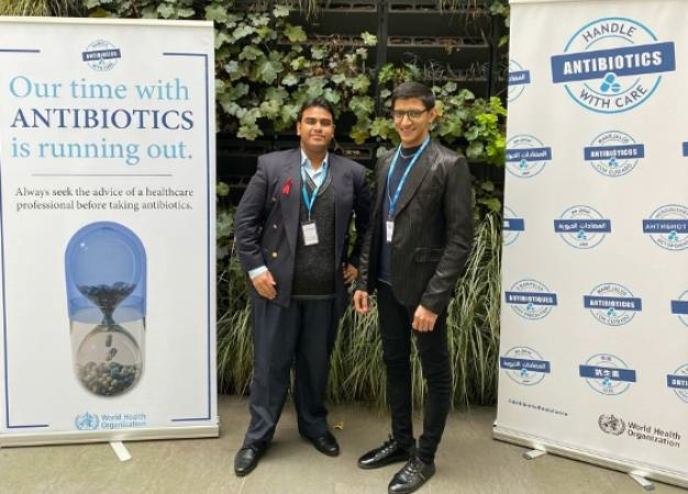 Kapil Narain and Mohamed Hoosen Suleman were selected as one of 10 finalists in an international competition. (UKZN)