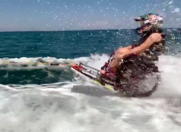 This extreme sport athlete's feat went viral after