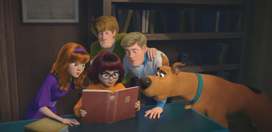 The Scooby Doo gang are back in a new big screen adventure, Scoob!