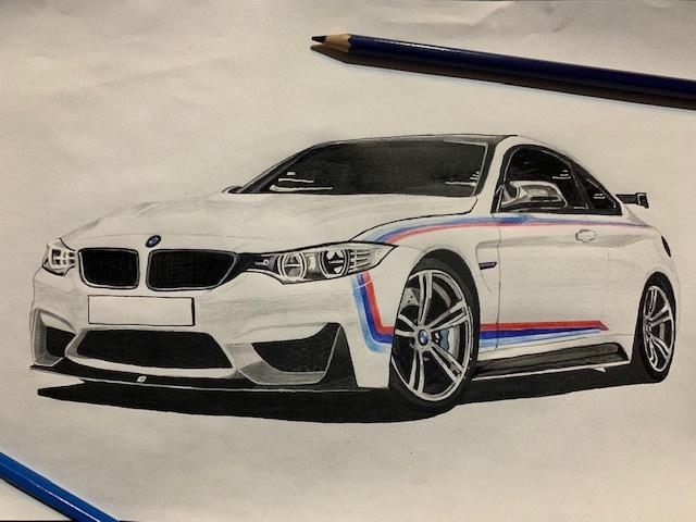 BMW drawing