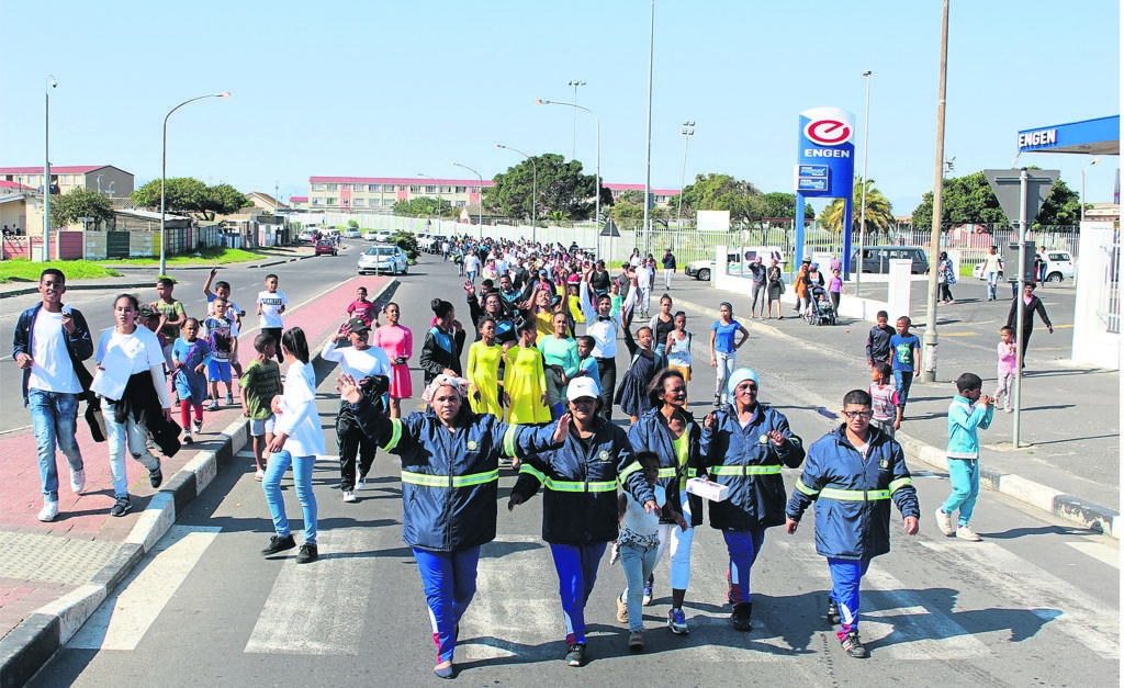 The youth welcomed the launch of the Life Counts programme and said it is something they have been longing for in their area.PHOTO: siphesihle notwabaza