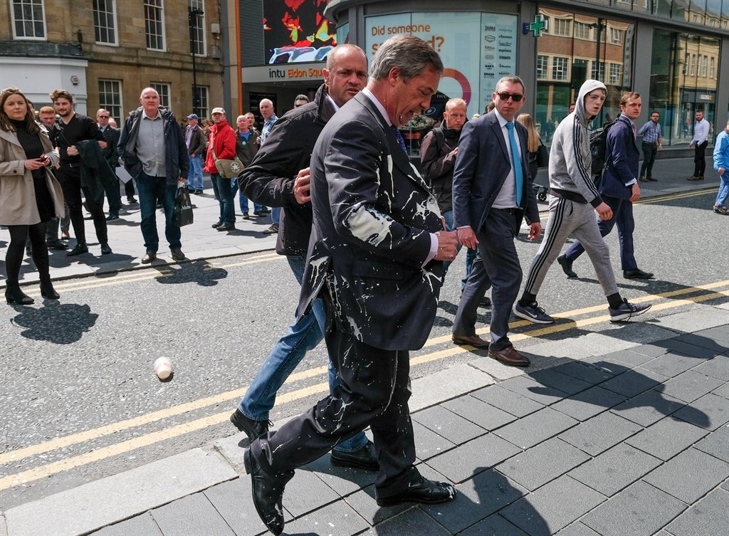 NEWCASTLE-UPON-TYNE, ENGLAND - MAY 20: Brexit Part