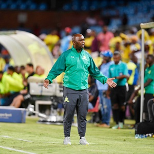 Mosimane: 'The guys were nervous in the first-half'