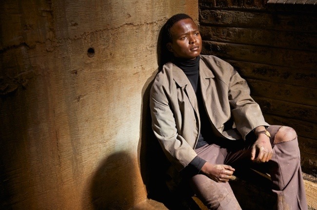 Thabo Rametsi(Above) plays Solomon Kalushi Mahlangu who is a young hawker who joins the struggle after the 16 June 1976 uprising
