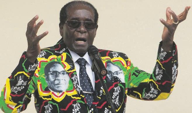 Former Zimbabwean President Robert Mugabe died on Friday. Picture: Tsvangirayi Mukwazhi / AP