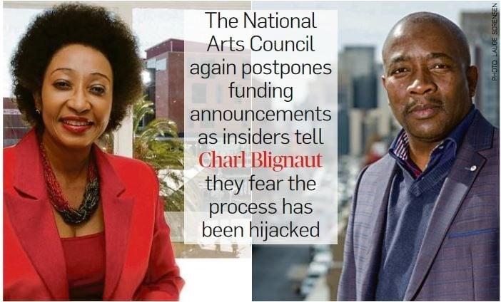 NAC chief executive Rosemary Mangope and NAC chair Hartley Ngoato