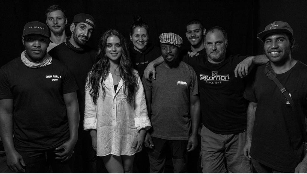 The cast, crew and masterminds behind the song, Die Deur, and its music video. PHOTO: Ruth Smith Photography