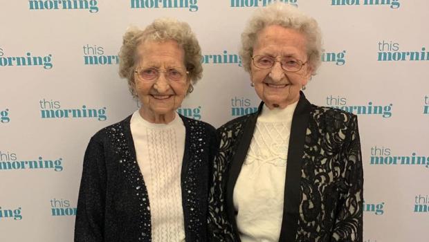 95-year-old Tipton twins (Photo: Tipton twins Instagram)